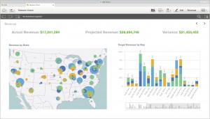 Qlik Sense-Screenshot-Revenue