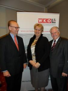 Wissensmanagement praxisnah: Belcredi-Weindl-Meringer (vlnr)